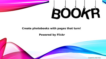 bookr tutorial online book creator by katie imes tpt