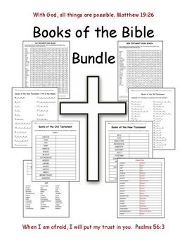 graphic about Printable Books of the Bible List titled Guides OF THE BIBLE Deal