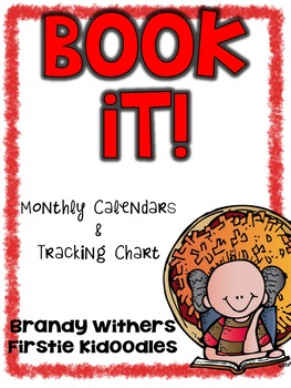 BOOKiT! Monthly Calendars & Tracking Sheet