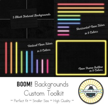 BOOM! Custom Background Toolkit {Neon}