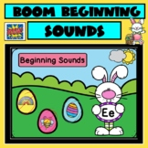 BOOM Cards | Beginning Sounds | Easter and Spring