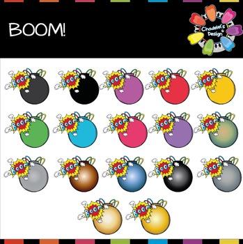 BOOM Bomb Clips
