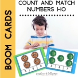 BOOM CARD Count and Match Numbers 1-10