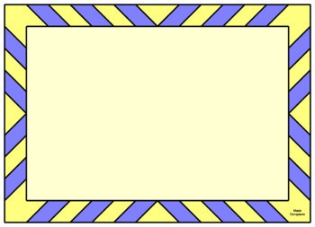 BOOM CARD FRAMES:  (FOR PERSONAL OR COMMERCIAL USE WITH INSTRUCTIONAL VIDEO)