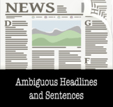 BOOM CARD VERSION: Ambiguous Headlines and Sentences