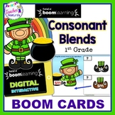 ST. PATRICK'S DAY BOOM CARDS : CONSONANT BLENDS