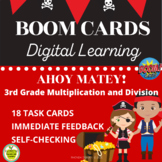 BOOM CARDS 3rd Grade Multiplication and Division