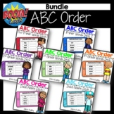 BOOM CARDS ABC Order: Dolch Noun Sight Words Ultimate BUNDLE Distance Learning