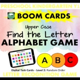 BOOM CARDS™ ALPHABET GAME Find the Letter UPPER CASE
