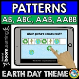 BOOM CARDS APRIL MATH CENTER (PATTERNING EARTH DAY ACTIVIT
