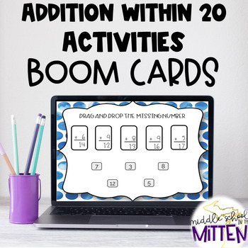 BOOM CARDS - Addition in 20