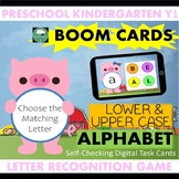 BOOM CARDS™ Alphabet Game Lower and Upper Case Matching