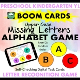BOOM CARDS™ Alphabet Game What Letter Is Missing UPPER CASE