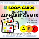 BOOM CARDS™ Alphabet Games BUNDLE - Matching, Find the Let