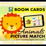 BOOM CARDS™ Animals Picture Matching