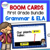 FIRST GRADE BOOM CARDS : 1st Grade GRAMMAR BUNDLE