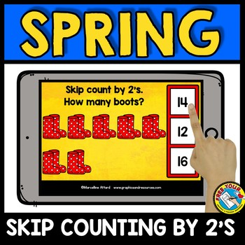 BOOM CARDS BUNDLE (SPRING ACTIVITY KINDERGARTEN) APRIL MATH CENTERS DIGITAL