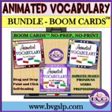 Vocabulary BUNDLE ANIMATED GIFs- Pronouns   Verbs   Prepos