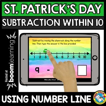 ST. PATRICK'S DAY MATH ADDITION SUBTRACTION (MARCH ACTIVITIES KINDERGARTEN)