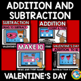 BOOM CARDS BUNDLES (VALENTINE'S DAY ACTIVITY KINDERGARTEN FEBRUARY MATH CENTERS)