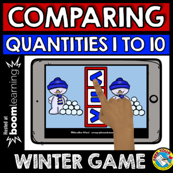 BOOM CARDS BUNDLE (DECEMBER ACTIVITY KINDERGARTEN WINTER MATH DIGITAL TASK CARDS