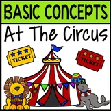 BOOM CARDS: Basic Concepts at the Circus