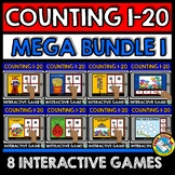 BOOM CARDS MATH BUNDLE OF COUNTING GAMES (NUMBERS 1-20)