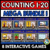 BOOM CARDS COUNTING GAMES MEGA BUNDLE (NUMBERS 1-20 DIGITA