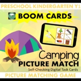 BOOM CARDS™ Camping Picture Matching