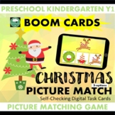 BOOM CARDS™ Christmas IDENTICAL PICTURE MATCHING 3 Options