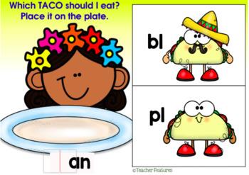 BOOM CARDS Cinco de Mayo   CONSONANT BLENDS   PHONICS   Hispanic Heritage Month