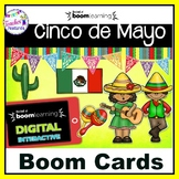 BOOM CARDS READING Digital Task Cards CINCO DE MAYO