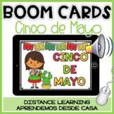 BOOM CARDS Cinco de Mayo: Lectura y comprensión   Spanish Distance Learning