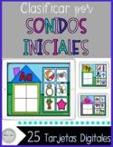 •●BOOM Cards●• Clasificando Sonidos Iniciales {Prek, Kinder, 1st}
