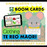 BOOM CARDS™ Clothing Vocabulary Game in TE REO MAORI