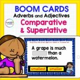 Boom Cards Adjectives & Adverbs (Comparative & Superlative) 3rd Grade