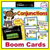 BOOM CARDS ELA | CONJUNCTIONS | Word Work Centers | 1st Grade