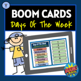 BOOM CARDS: DAYS OF THE WEEK/MONTHS OF THE YEAR DIGITAL TA