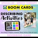 BOOM CARDS™ DESCRIBING Actions Activities