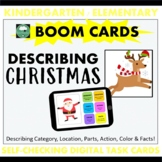 BOOM CARDS™ DESCRIBING Christmas Objects