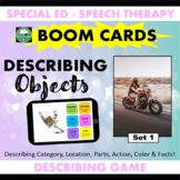 BOOM CARDS™ DESCRIBING Objects Set 1