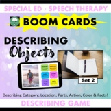 BOOM CARDS™ DESCRIBING Objects Set 2