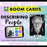 BOOM CARDS™ DESCRIBING People Set 1