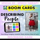 BOOM CARDS™ DESCRIBING People Set 2