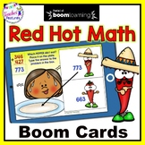 BOOM CARDS DIGITAL 3-Digit Addition with Regrouping for Cinco de Mayo Activities