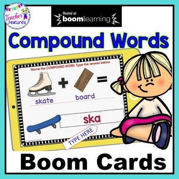 BOOM CARDS DIGITAL | COMPOUND WORDS