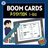 BOOM CARDS:DIGITAL TASK ACTIVITIES ADDITION 1-100