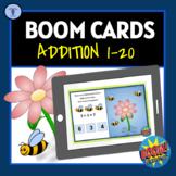 BOOM CARDS:DIGITAL TASK ACTIVITIES ADDITION 1-20