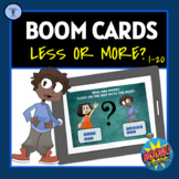BOOM CARDS:DIGITAL TASK ACTIVITIES LESS OR MORE