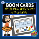 BOOM CARDS: DIGITAL TASK ACTIVITIES ON MATERIALS,OBJECTS A